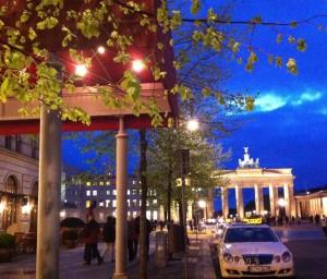 Berlin Brandenburg from Unter den Linden