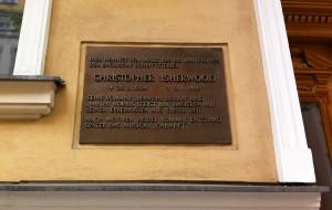 Berlin Isherwood plaque