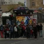 Trabant and Wall