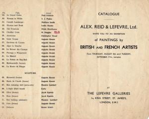 Lefevre catalogue, 1935 (2)caption