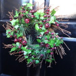 Xmas wreath Green Lanes