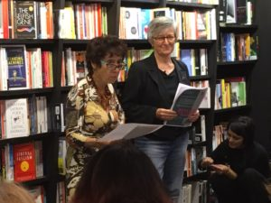 Eizabeth Woodcraft & Norma Cohen at Waterstones Covent Garden