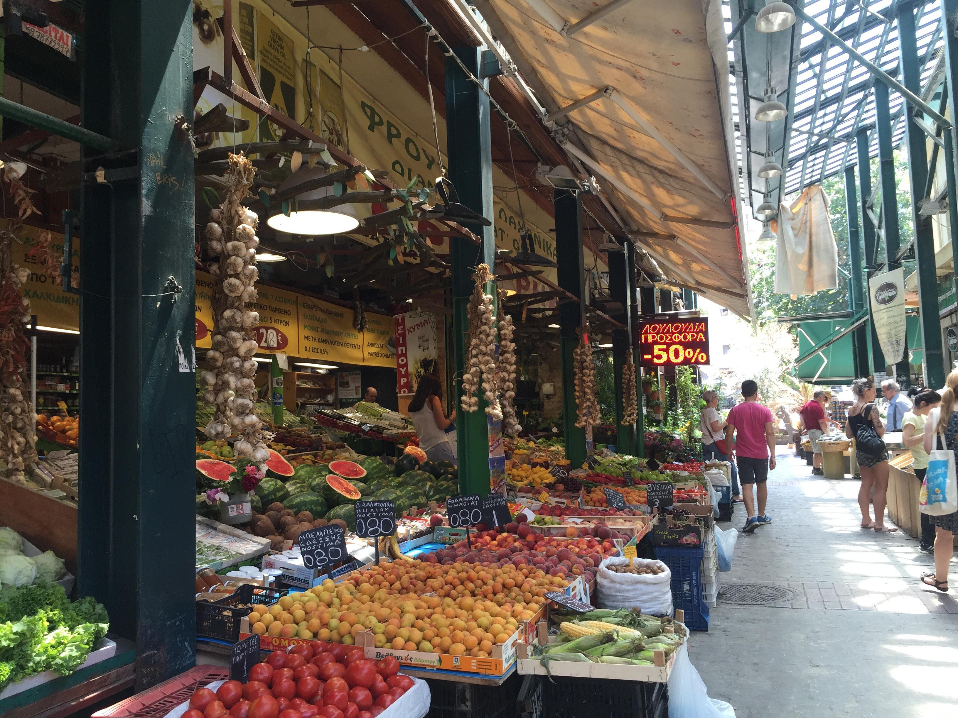 Thessaloniki market 2
