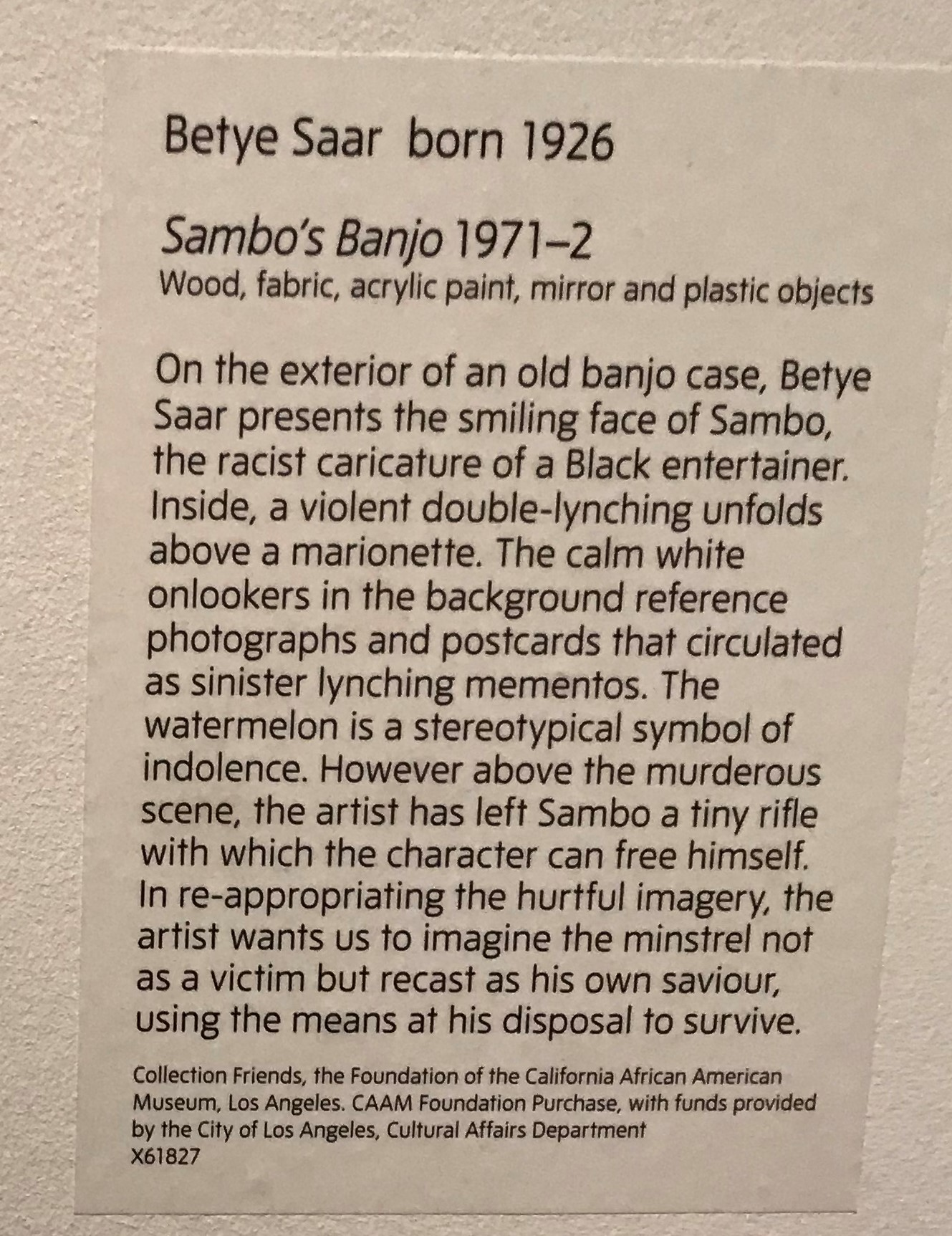 Soul of a Nation Tate Modern Oct 2017 (94)
